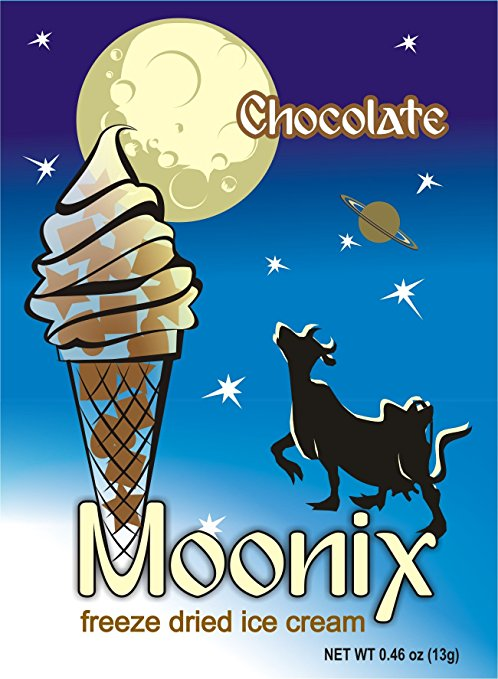 Moonix Freeze Dried Ice Cream Chocolate