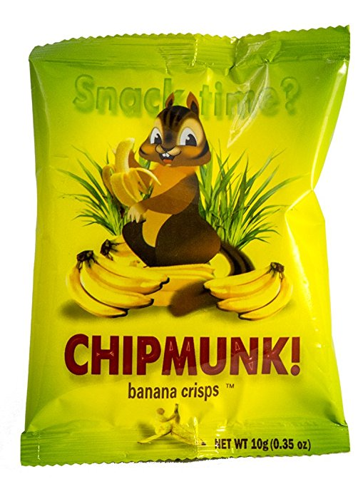 Chipmunk Freeze Dried Banana Crisps