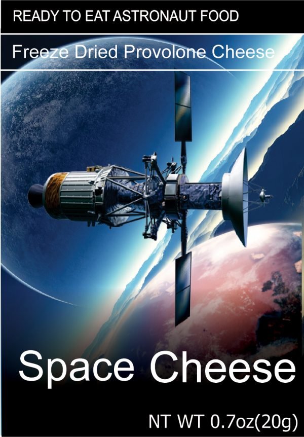 Freeze Dried Space Cheese Provolone