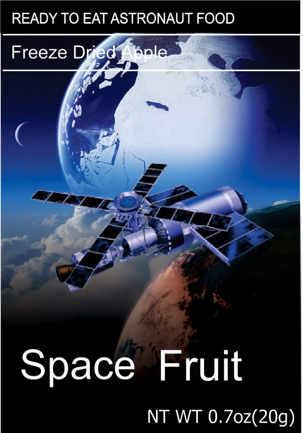 Freeze Dried Snacks Space Fruit Apple