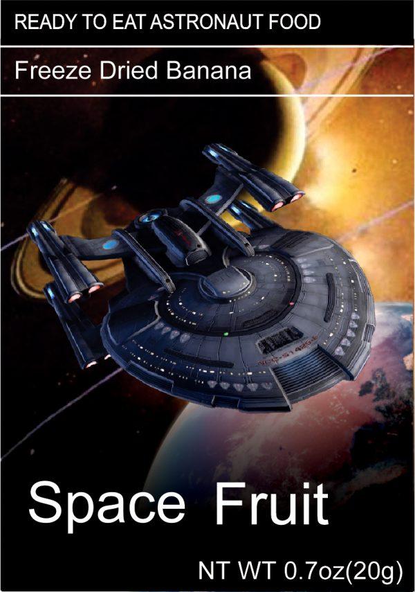 Freeze Dried Snacks Space Fruit Banana