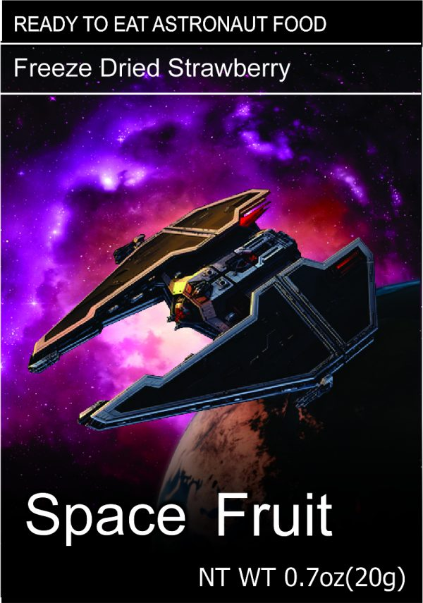 Freeze Dried Snacks Space Fruit Strawberry