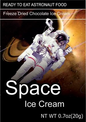 Space Freeze Dried Ice Cream Chocolate
