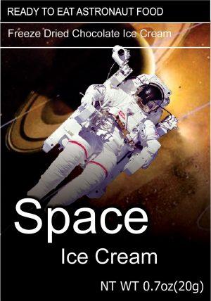 Space Freeze Dried Ice Cream Chocolate