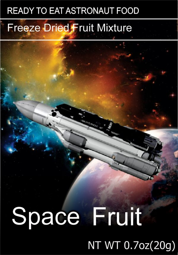 Freeze Dried Snacks Space Fruit Mixture