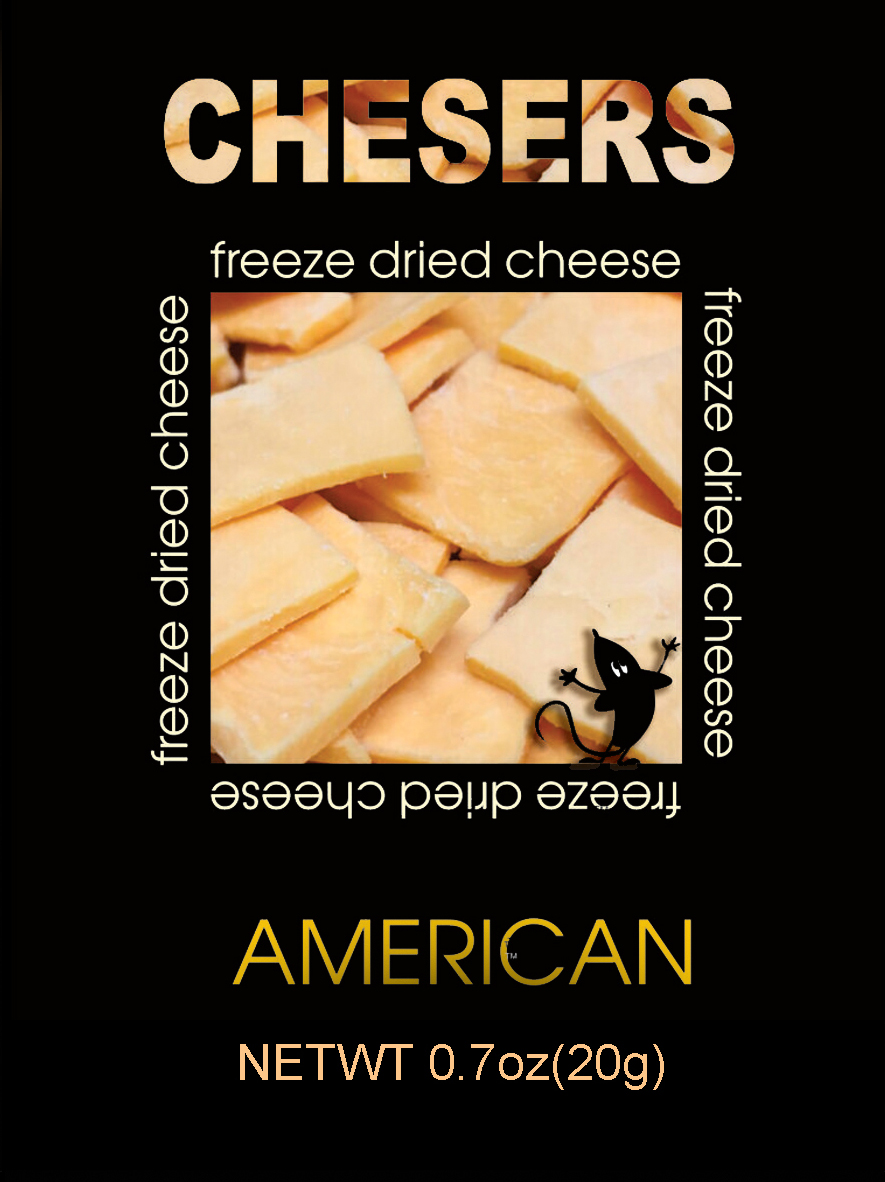 Chesers Freeze Dried Cheese American