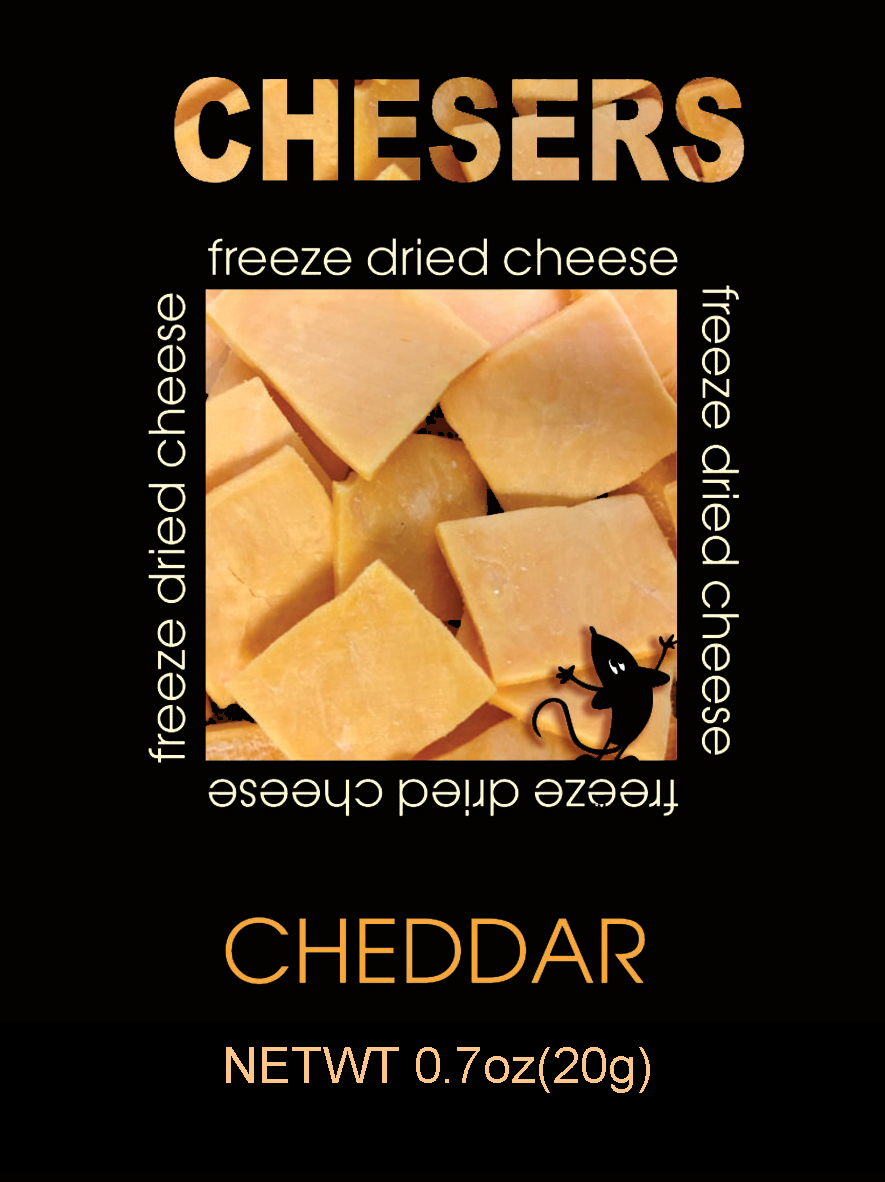 Chesers Freeze Dried Cheese Cheddar