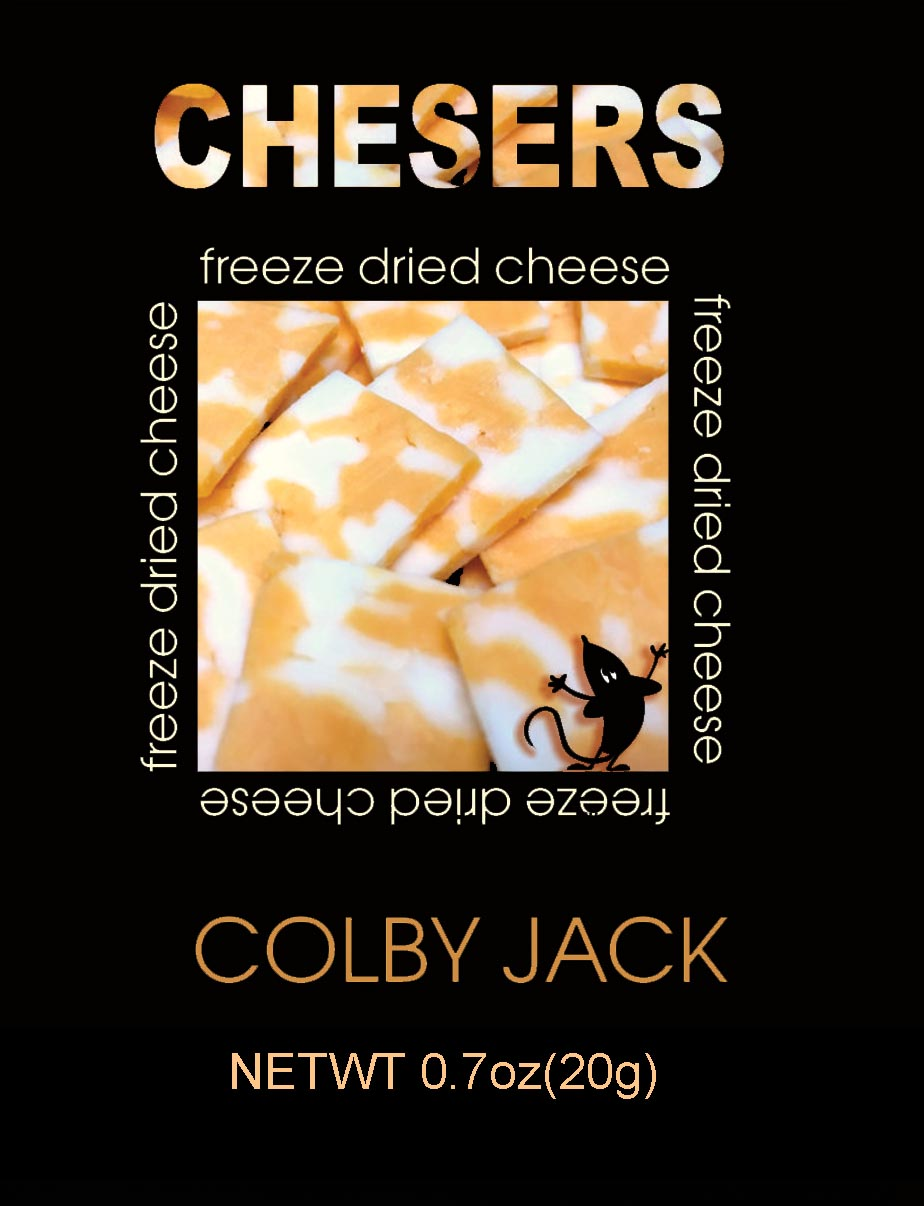Chesers Freeze Dried Cheese Colby Jack