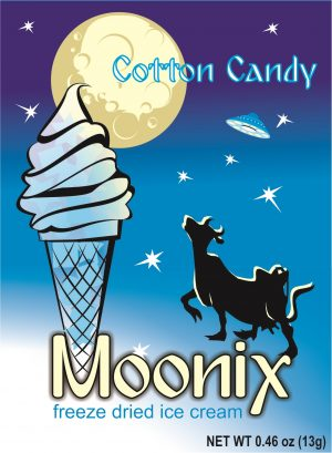 Moonix Freeze Dried Ice Cream Cotton Candy