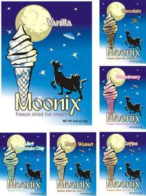 Moonix Freeze Dried Ice Cream