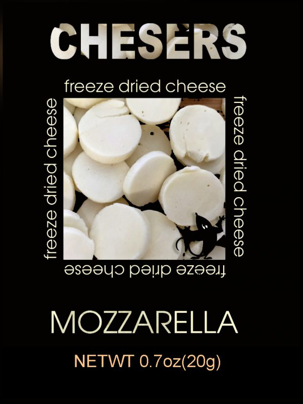 freeze dried mozzarella cheese