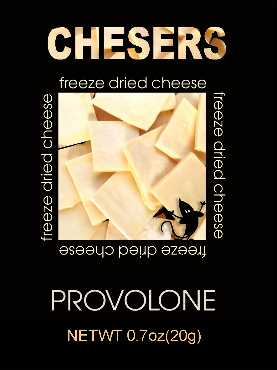 Chesers Freeze Dried Cheese Provolone
