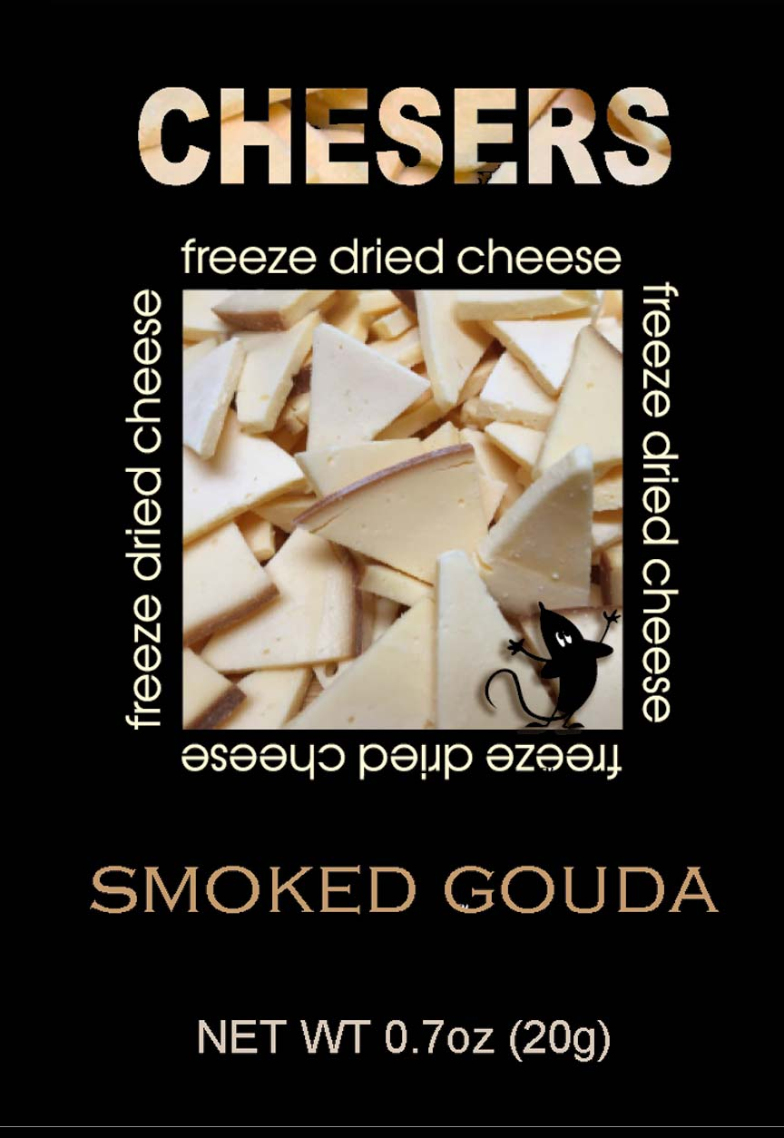 Chesers Freeze Dried Cheese Smoked Gouda