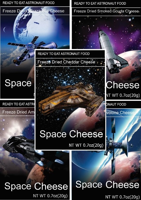 Freeze Dried Snack Space Cheese