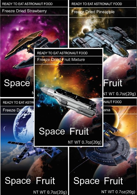 Freeze Dried Snacks Space Fruit