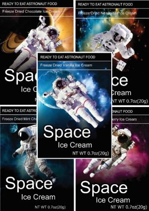 Space Sampler – Fruit, Cheese, Ice Cream!